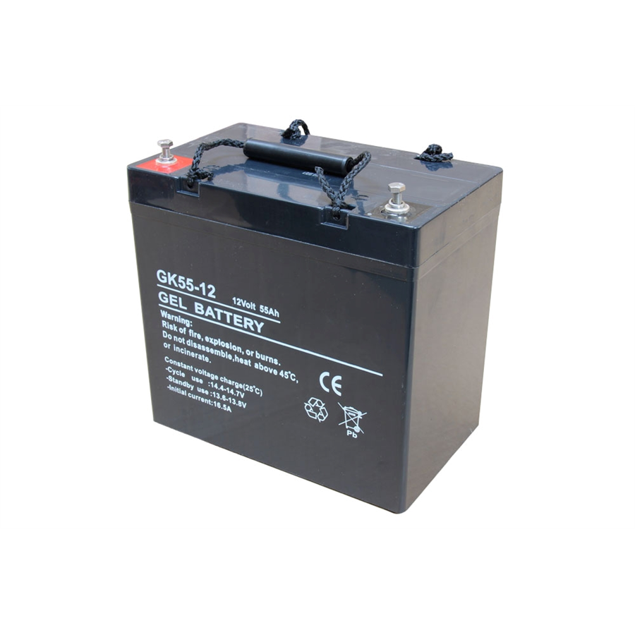 GEL deep cycle batteri 12v 55Ah
