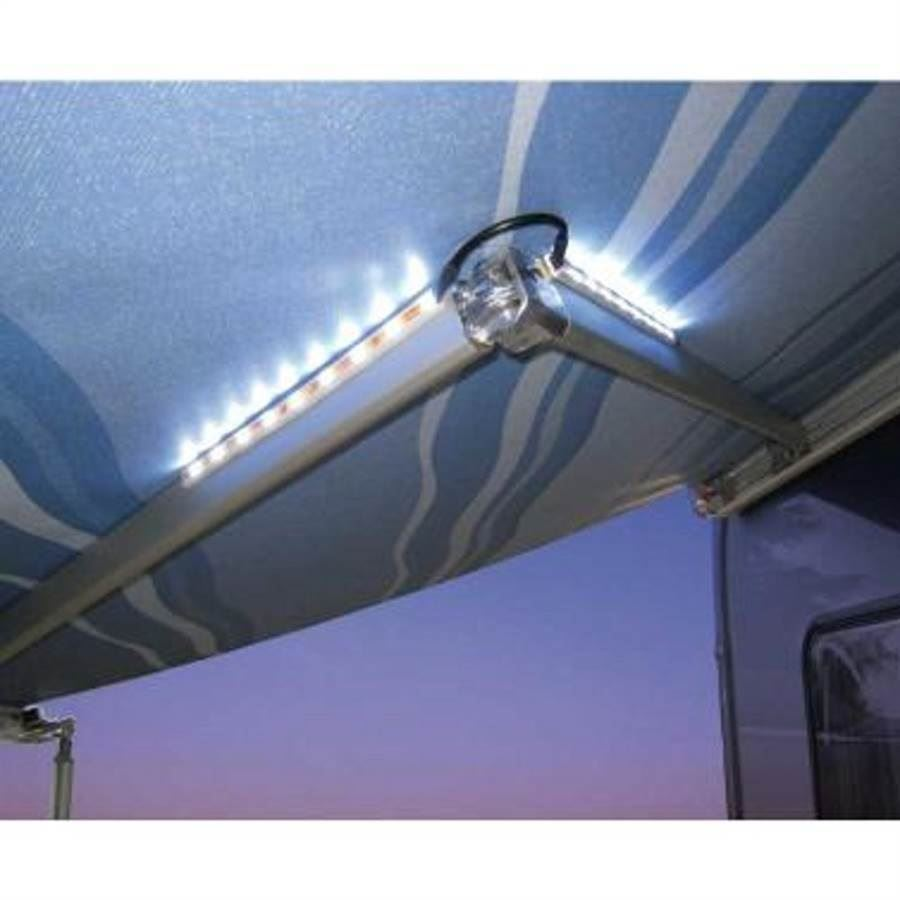 Inredning 12 volt belysning : Fiamma LED Lysliste 4 stk a 9 LED - Køb den idag hos BilligCamping.dk