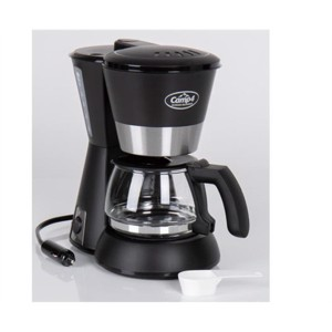 Camp4 Kaffemaskine 12V 170W, sort 650ml, 4-6 kopper