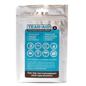 Tear-Aid A reparationslap til Bomuld, nylon etc.